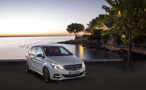 Mercedes-Benz on the charge with its first volume electric c...