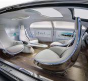 Autonomous driving in hydrogen-powered luxury, Mercedes-styl...