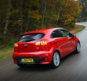 Revised Kia Rio able to return 88.3mpg and emit just 86g/km...
