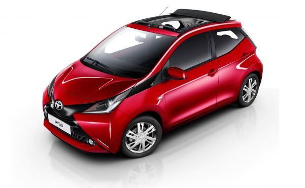 Toyota's Aygo loses blows its top as summer approaches
