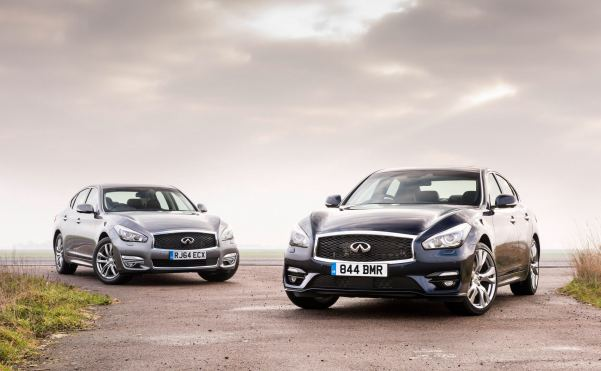 129g/km from new diesel engined Infiniti Q70