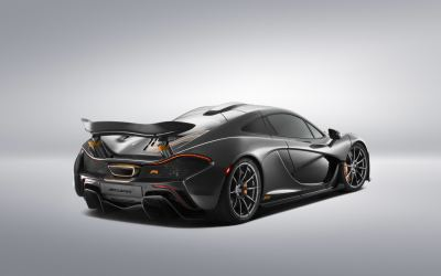 Silent Entry For One-Off McLaren P1 Hybrid At Pebble Beach
