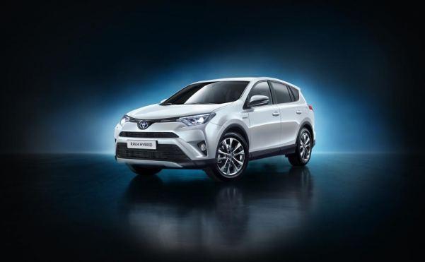 Hybrid version of the RAV4 unveiled