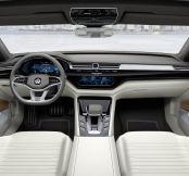Volkswagen unveil hybrid-powered luxury C Coupé GTE concept...
