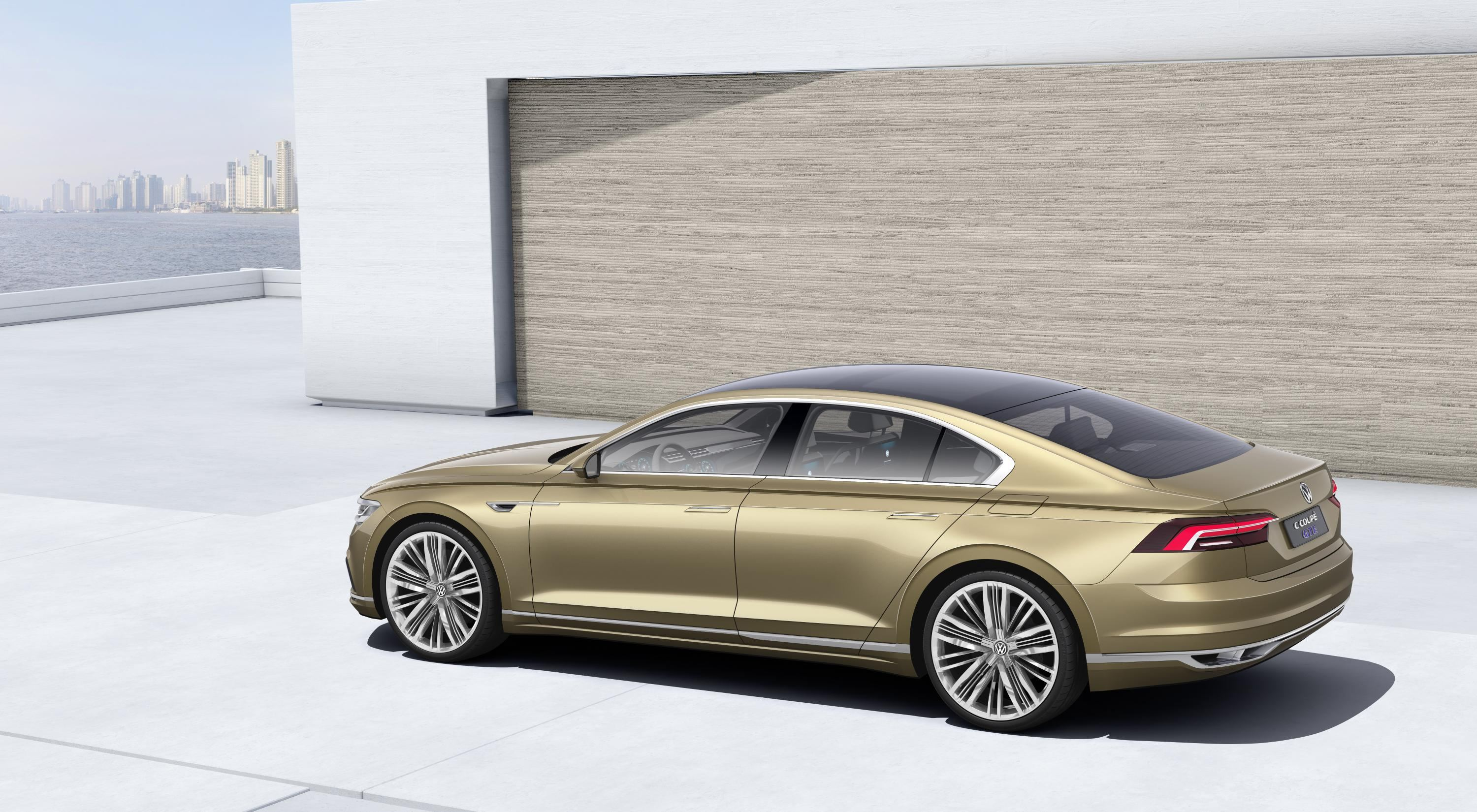 Vw Unveil Hybrid Powered Luxury Saloon In Shanghai