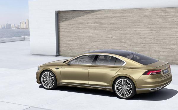 Vw Unveil Hybrid Powered Luxury Saloon In Shanghai