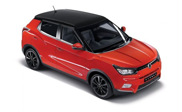113g/km SsangYong Tivoli to cost from just £12,950
