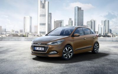 H'Y'undai spy a more sophisticated i20 supermini