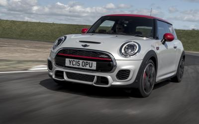 2.0-litre, 231bhp MINI John Cooper Works – and just 133g/km