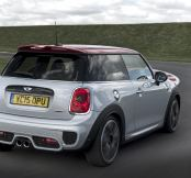 2.0-litre, 231bhp MINI John Cooper Works – and just 133g/km