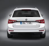 Skoda unveil first official pics of new Superb estate
