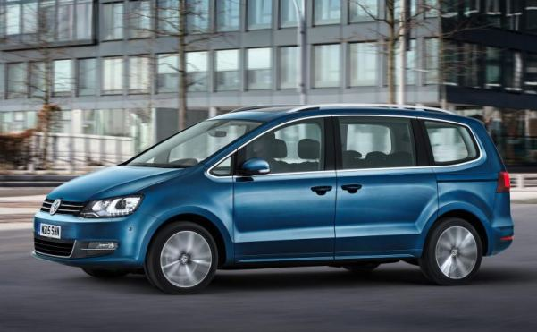Volkswagen revises Sharan – and makes it 15% more efficient