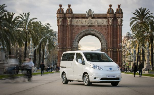 Nissan turns e-NV200 into country's first all-electric seven...