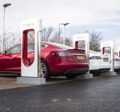 Tesla  Supercharger Chargers