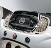 Fiat 500 Dashboard LCD