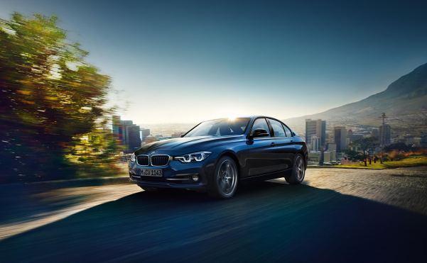 BMW 320d ED Sport Side View