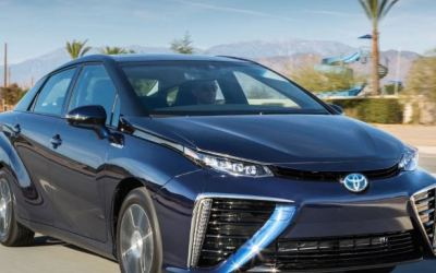 The U.K.'s first hydrogen car filling station opens