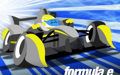 Exclusive Formula E artwork