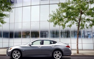 Infiniti updates Q70 and introduced entry-level diesel engin...