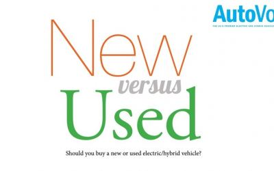 Buying New versus Used Electric and Hybrid Vehicles