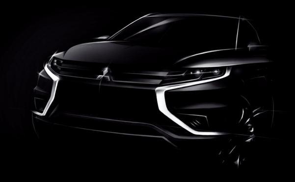 Mitsubishi hints at Outlander PHEV Concept-S