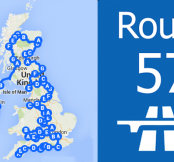 "The Electric Car Road Trip ""Route 57"""