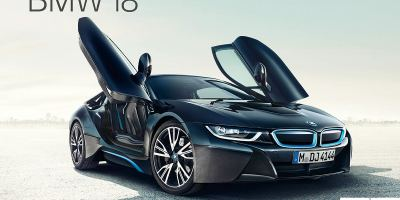 Updates of the BMW i8 gives it more electric range and power