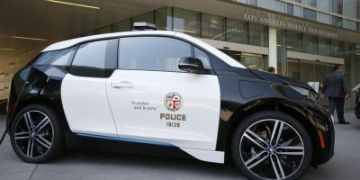 LAPD Goes Green by Adding 100 BMW i3 Electric Cars to Its Fl...