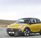 A new Vauxhall ADAM Rocks in