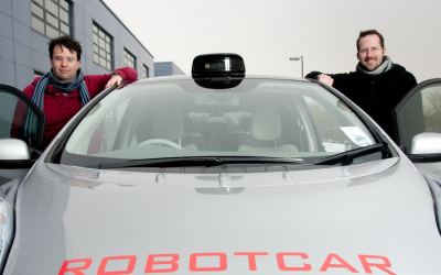 UK's Oxbotica to Rival Tesla and Google in Driverless Cars