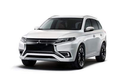 Mitsubishi's Outlander Concept-S hints at new PHEV's look