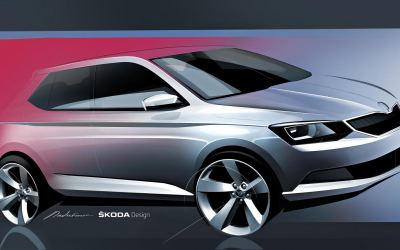 Skoda's New Eco Supermini Teaser