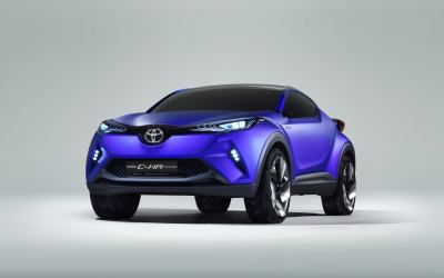 Toyota shows off its C-HR hybrid crossover concept