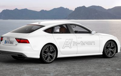 The New Audi A7 H-TRON To Hit A Showroom Near You Soon