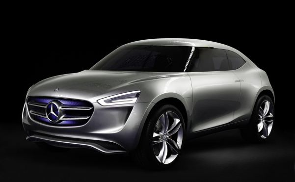 Eco-focused Mercedes G-Code concept bristles with tech