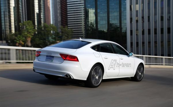 Audi enters the hydrogen car fray with A7 h-tron