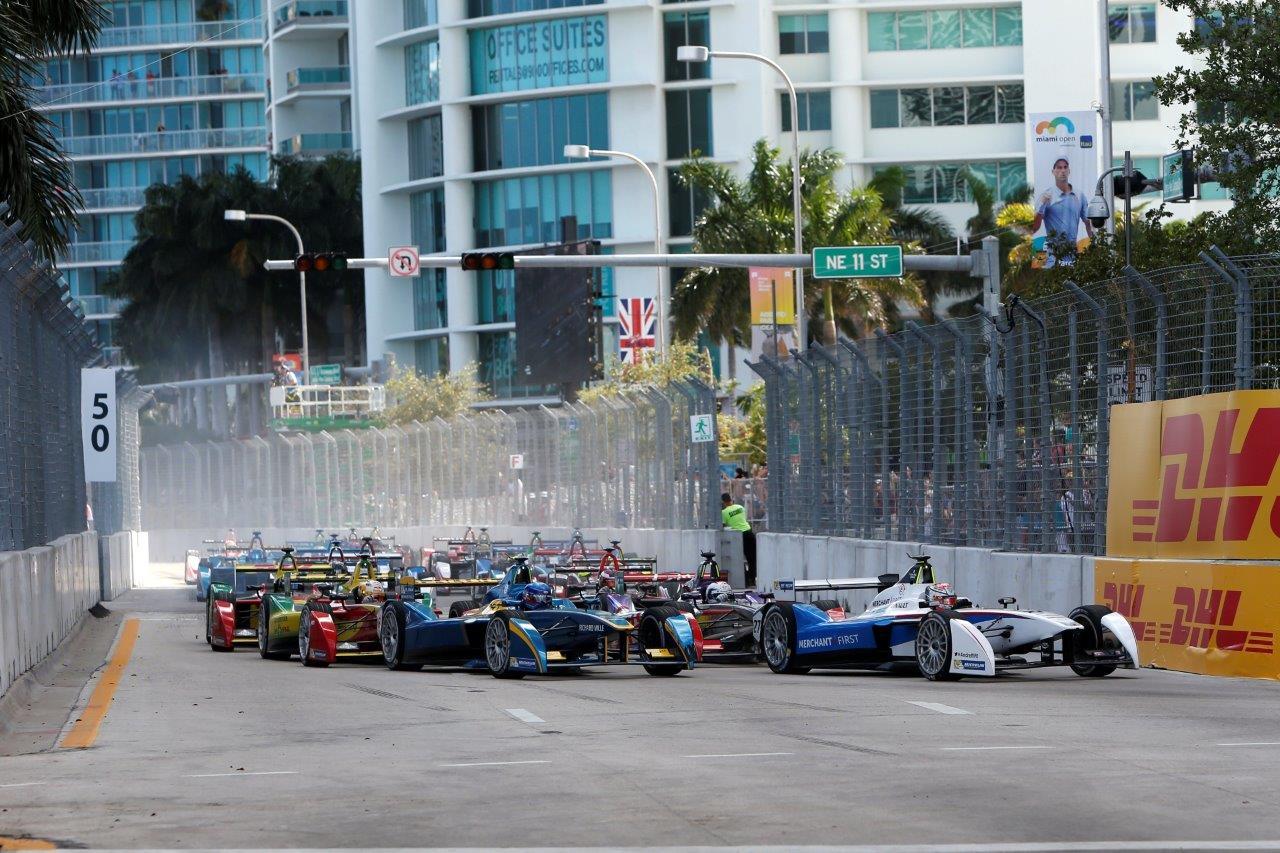 Formula E Prix 5th Round Miami Usa