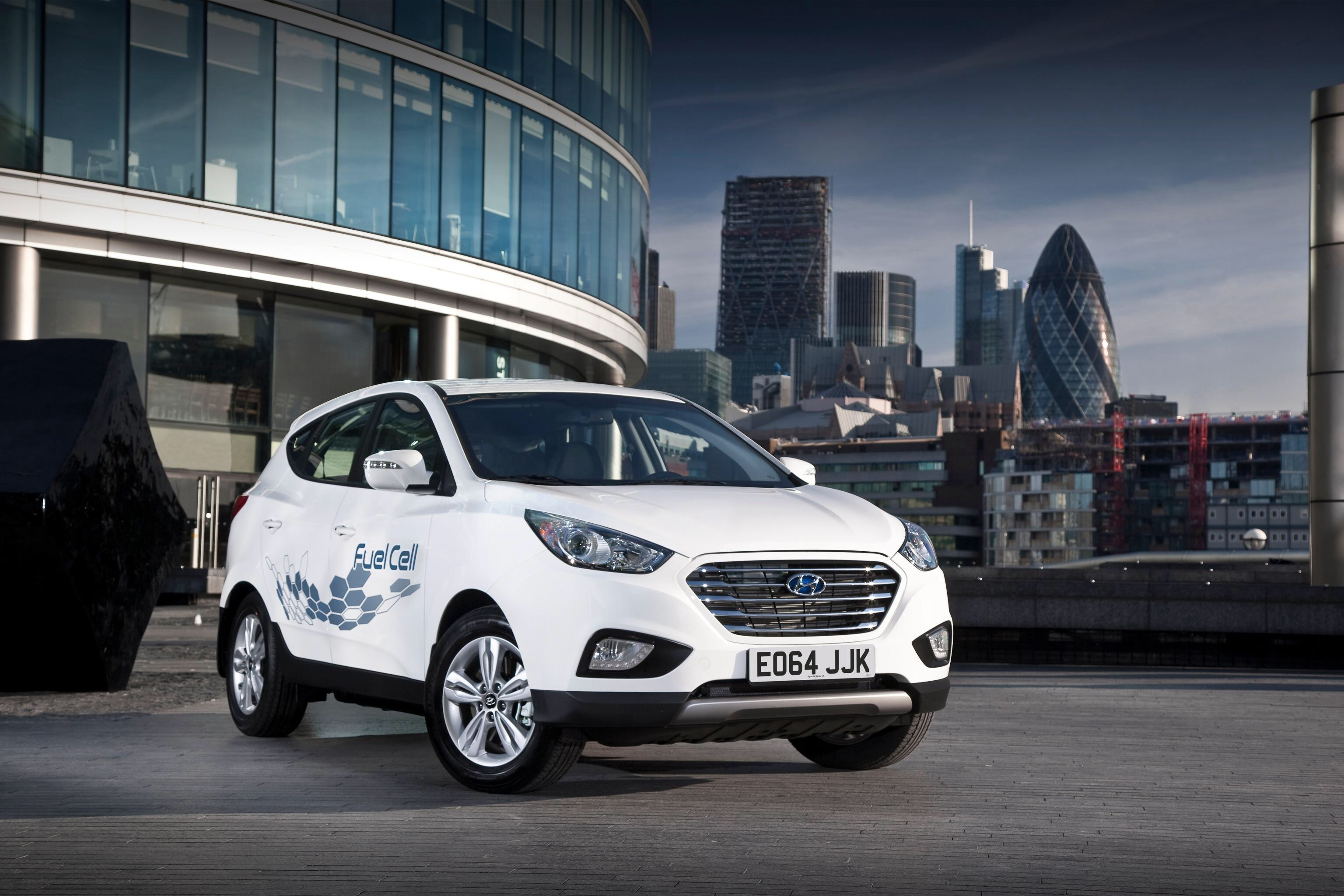 Hyundai Hydrogen Fuel Cell Vehicle Goes On Sale In The Uk