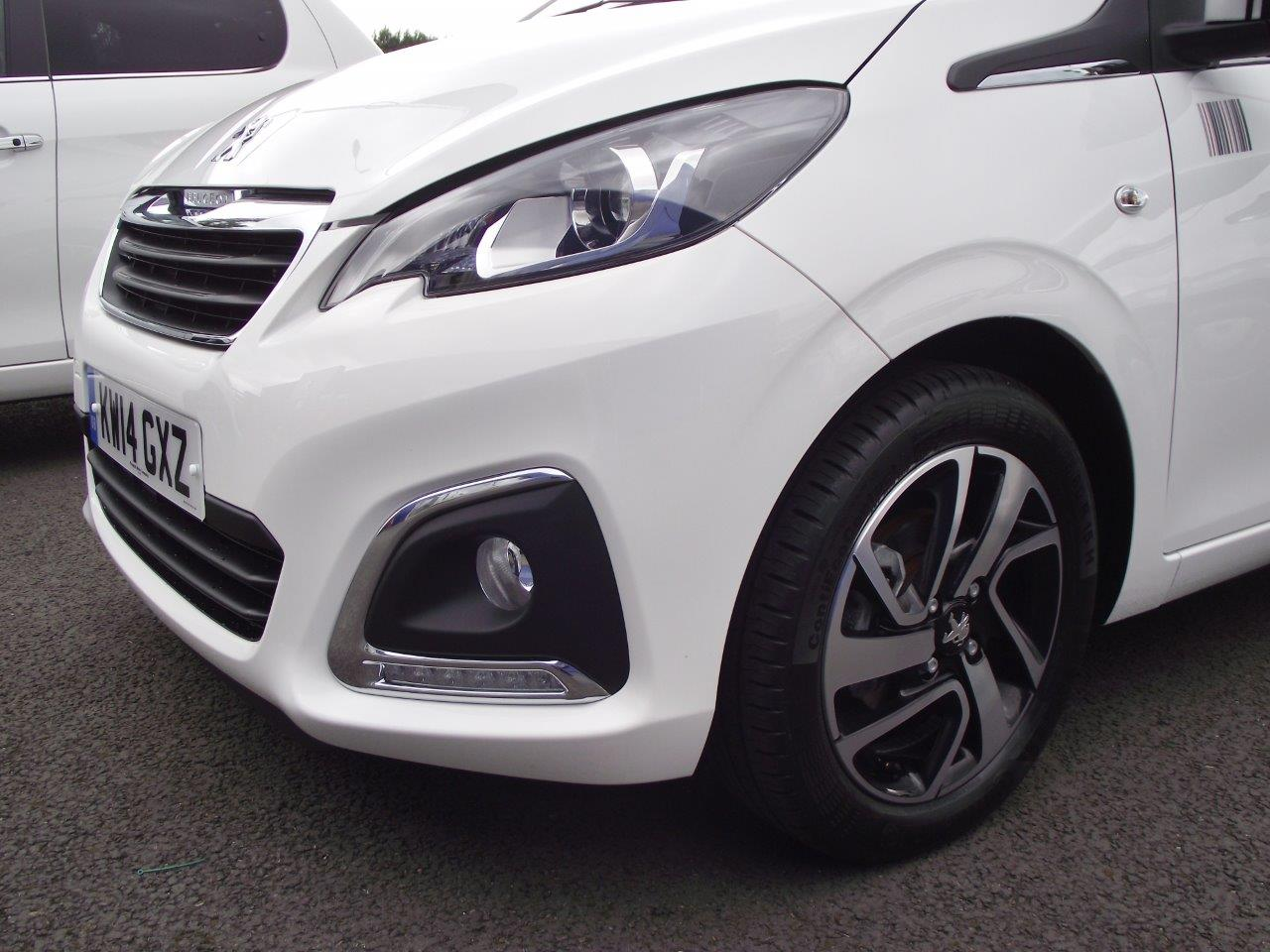 Used Car Dealers Leicester >> ROAD TEST REPORT: Peugeot 108 1.2 VTi Puretech Top Allure 5...