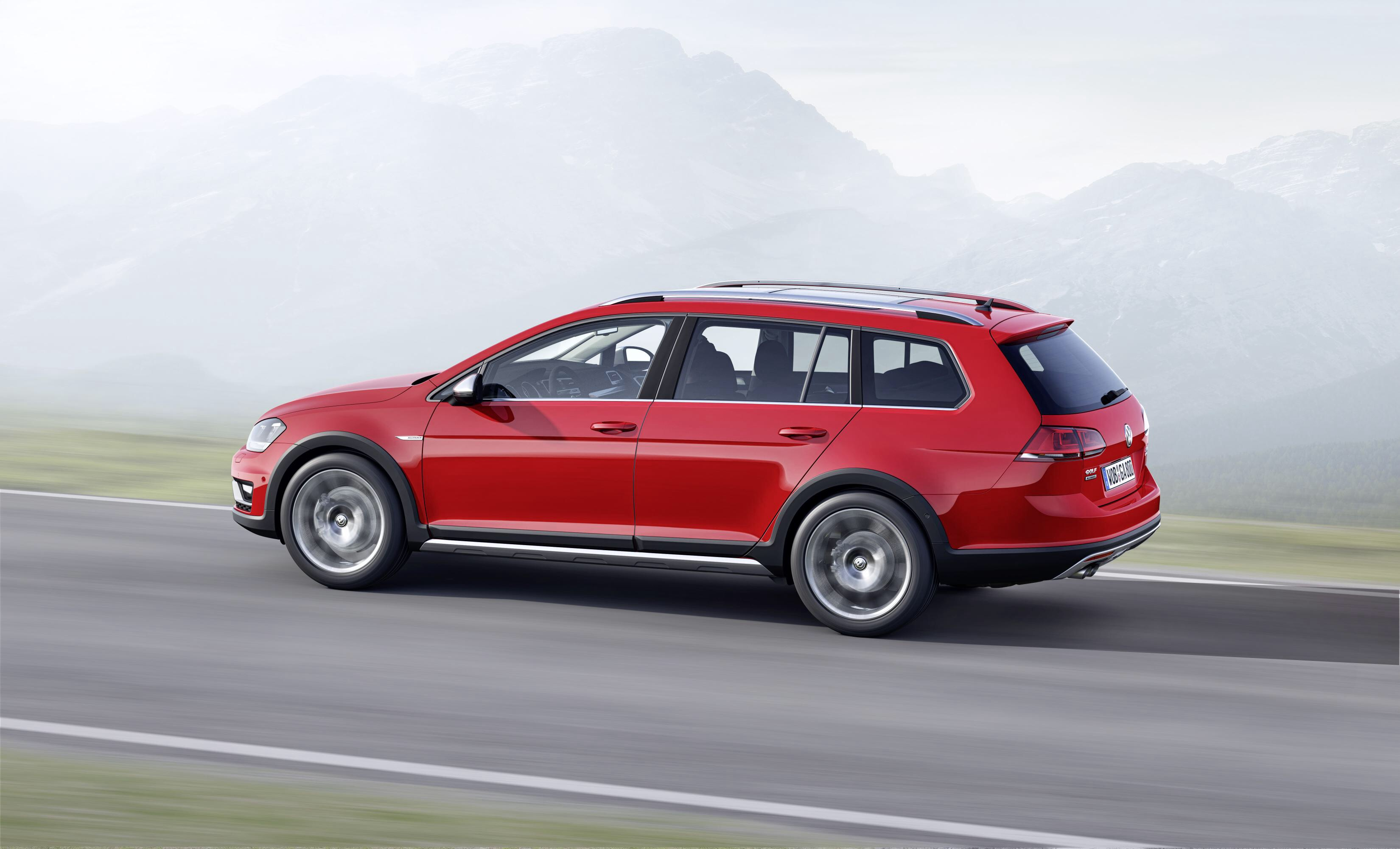 Vw S Golf In Welly Boots The Eco Friendly Alltrack