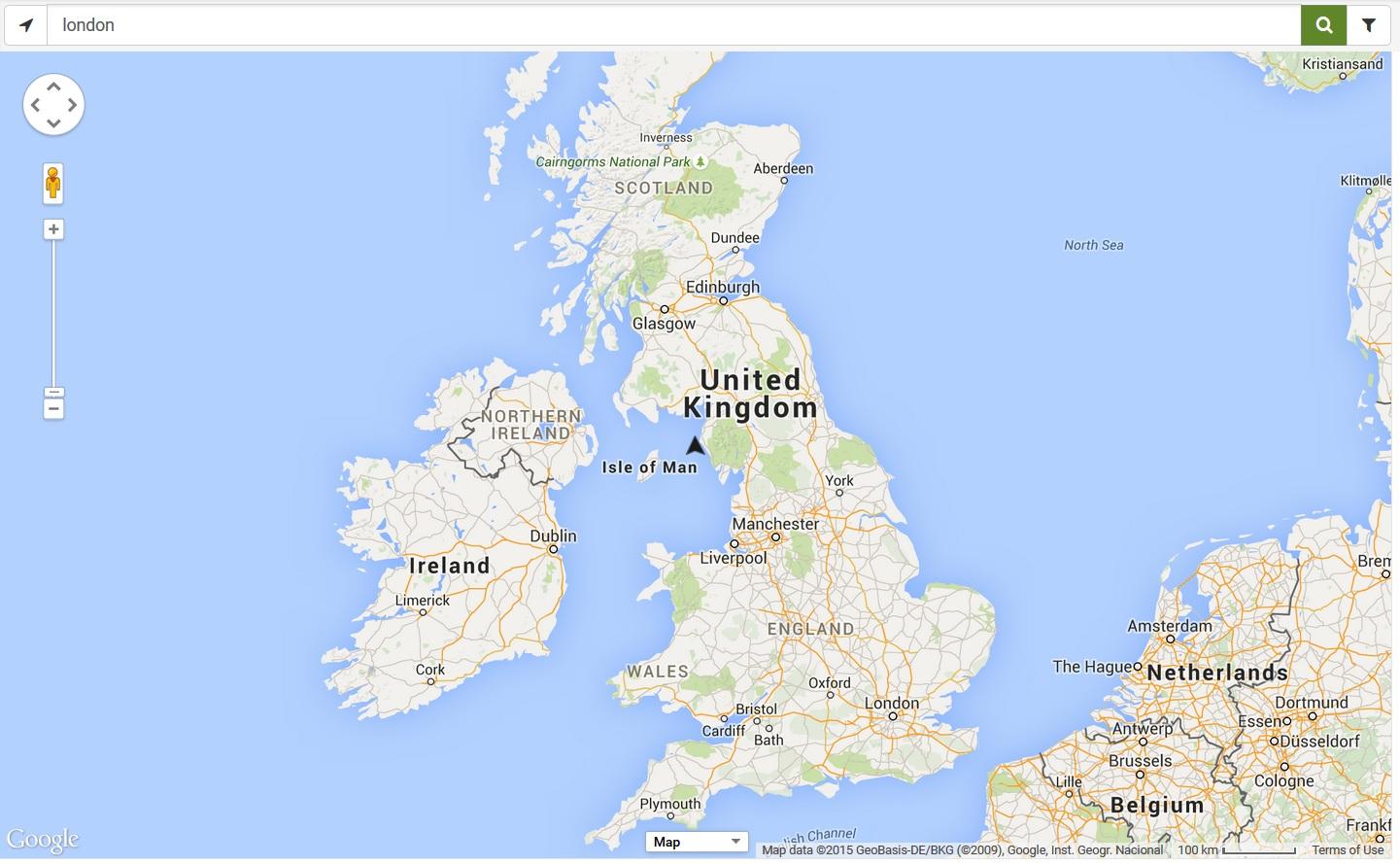 Electric Car UK Charging Map