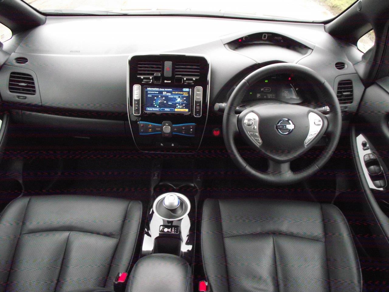 Nissan Leaf Sat Nav