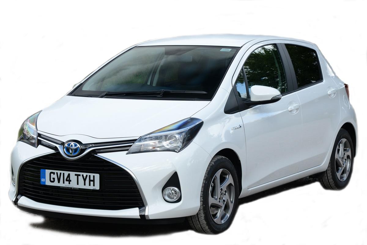 1st: Toyota Yaris Hybrid