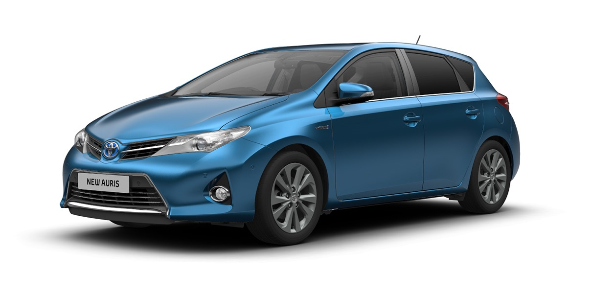 3rd: Toyota Auris