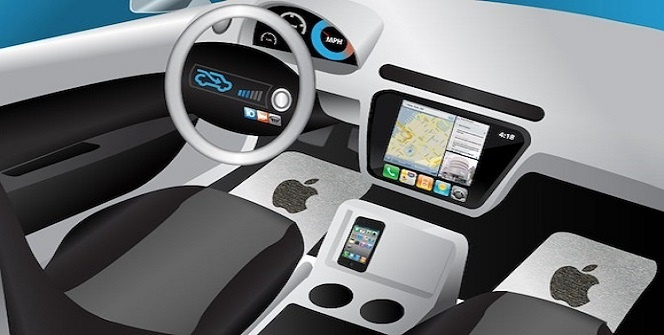 apple electric car drivers seats