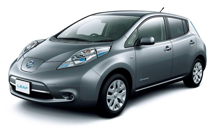 Make: Nissan  Model: Leaf