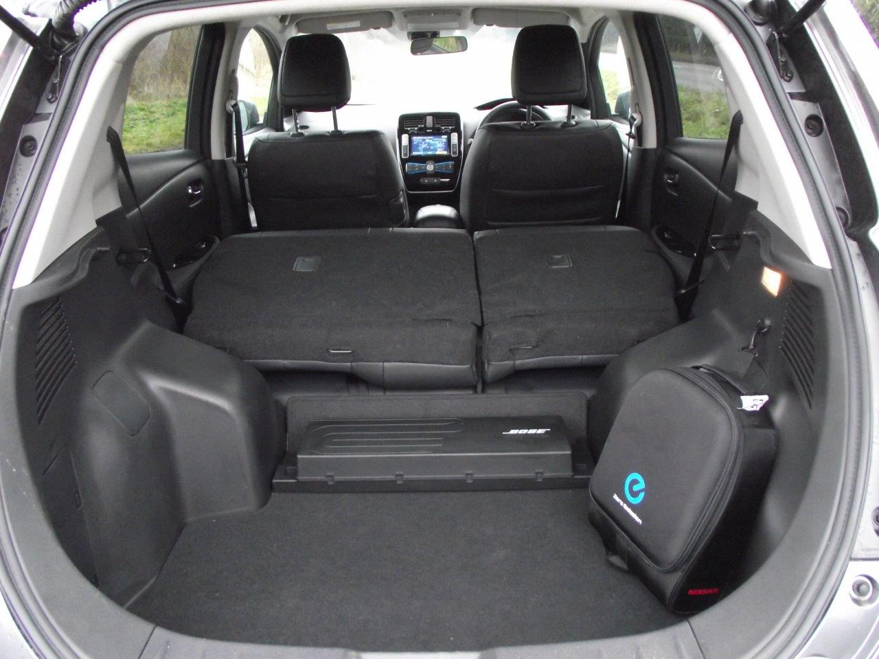 Nissan Leaf seat layout