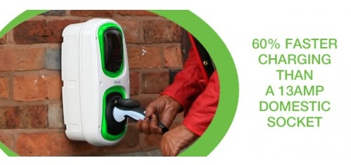 home charging point for electric cars