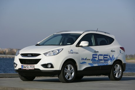 Hyundai ix35 FCEV Hydrogen fuel cell car
