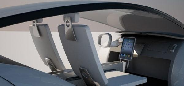 apple iCar seat concept